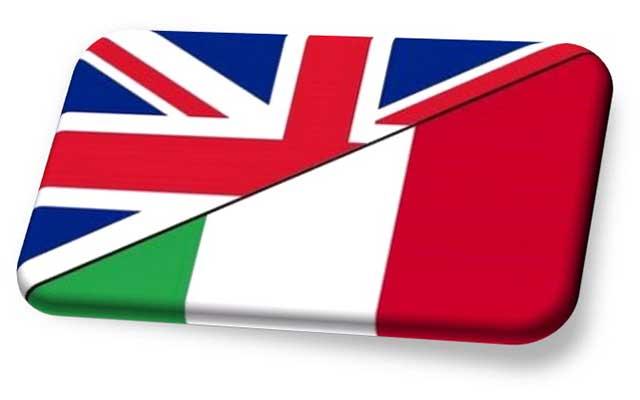 Risultati immagini per italiano inglese
